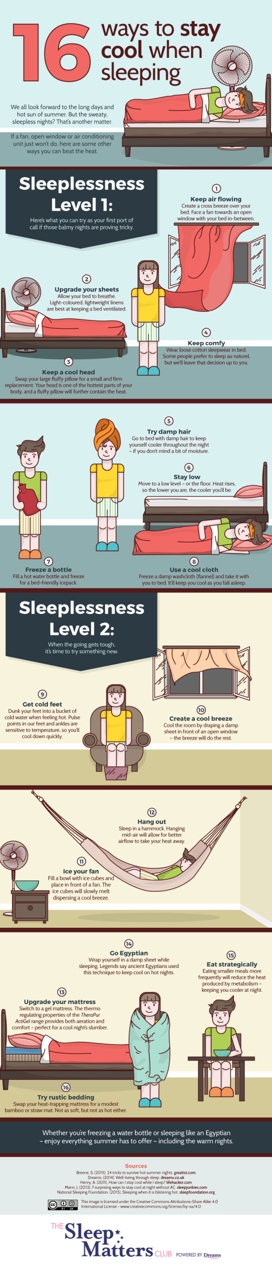 16-ways-to-stay-cool-when-sleeping-infographic